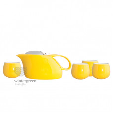 """Чайный набор """"Саюри"""" желтый"""