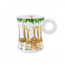 """Кружка """"Веселые жирафы""""  0,3 л"""