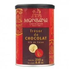 """Горячий шоколад Monbana """"Шоколадное сокровище"""" 250 грамм"""