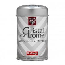 """Кофе """"Malongo"""" Эспрессо """"Кристальный аромат"""" 250 грамм (Серебряная банка)"""
