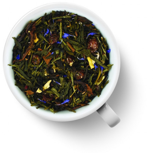 Чай Gutenberg зеленый с черным ароматизированный Королевская Звезда