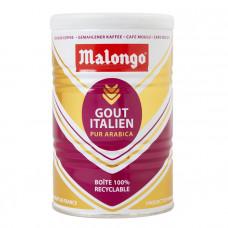 """Кофе """"Malongo"""" Итальянский вкус молотый банка 250 грамм"""