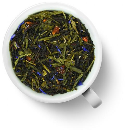 Чай Gutenberg зелёный с черным ароматизированный Клубника в шампанском