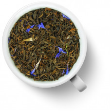 Чай Gutenberg ароматизированный Пуэр Эрл Грей Синий Цветок