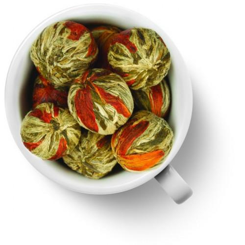 Китайский элитный чай Gutenberg Бай Юй Лянь (Белый лотос благоденствия) шарик с цветком лилии