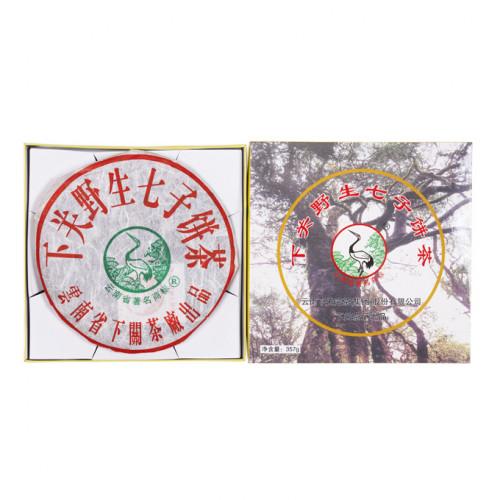 Китайский элитный чай Gutenberg Пуэр с дикого чайного куста.пресованный в подарочной коробке (357 грамм)