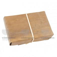 Шу Пуэр завёрнутый в листья бамбука (2005 г.) 250 гр. Фабрика Фэн Цин