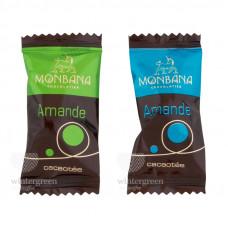 """Шоколадные конфеты Monbana """"Миндаль в шоколаде"""" 3 грамма (упаковка 20 шт.)"""