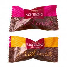 """Шоколадные конфеты Monbana """"Пралине в шоколаде"""" 3 грамма (упаковка 20 шт.)"""
