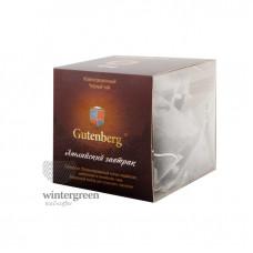 Чай Gutenberg черный ароматизированный в пирамидке Английский Завтрак