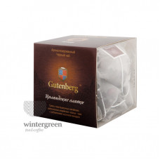 Чай Gutenberg черный ароматизированный в пирамидке Ирландские Сливки