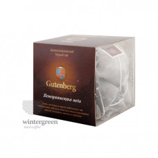 Чай Gutenberg черный ароматизированный в пирамидке Венецианская Ночь