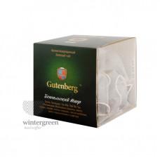 Чай Gutenberg зелёный ароматизированный в пирамидке Бенгальский Тигр