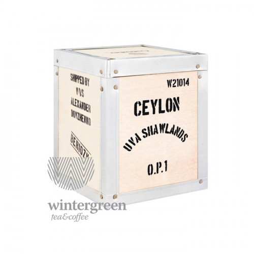 Чай в деревянной коробке Цейлон Ува Шоландс OP1 (100 гр.)