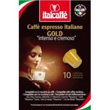"Капсулы Italcaffe ""Espresso Gold"" 10 шт. для кофемашин Nespresso"