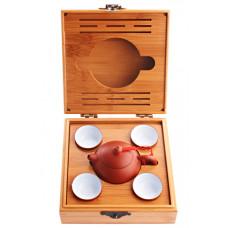 Набор для чайной церемонии на 4 персоны, 18x18x9 см
