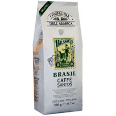 "Кофе в зернах Compagnia Dell` Arabica  ""Brasil Santos"""