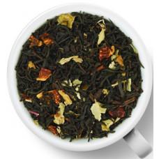 Чай черный ароматизированный Gutenberg Земляника со сливками