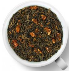 Чай черный ароматизированный Gutenberg Престиж Пуэр Земляника со сливками