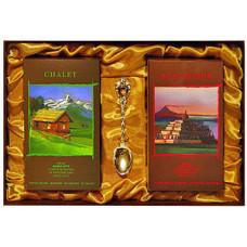 Подарочный набор Chalet (зерно) + Borbodur (зерно)