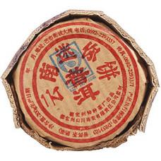 Чай черный Gutenberg Пуэр завёрнутый в бамбуковые листья