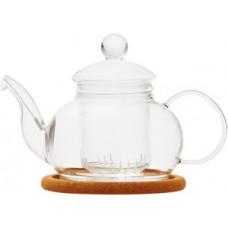 Стеклянный заварочный чайник Лотос с заварочной колбой 003820