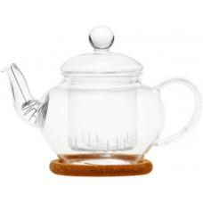 Стеклянный заварочный чайник Нарцисс с заварочной колбой 003813
