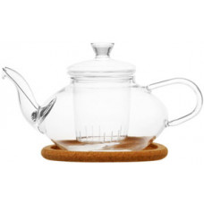 Стеклянный заварочный чайник Жасмин с заварочной колбой 003811