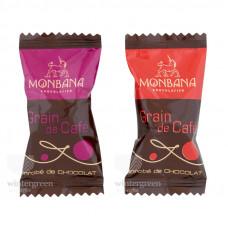 Кофейное зерно в шоколаде Monbana