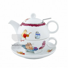 "Набор Чай для одного ""Крейзи Кэтс"""