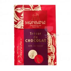 """Горячий шоколад Monbana """"Шоколадное сокровище"""" (Tresor de Chocolat) 100 пакетиков по 25 грамм"""