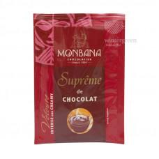 """Горячий шоколад Monbana """"Густой шоколад"""" (100 пакетиков по 25 грамм)"""
