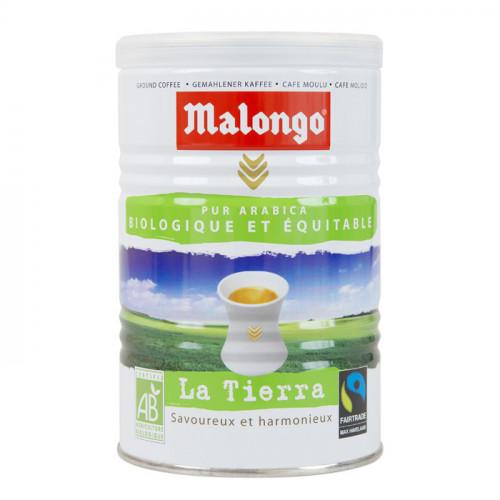 """Кофе """"Malongo"""" Био молотый банка 250 грамм"""