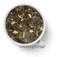 Чай Gutenberg зеленый ароматизированный Ганпаудер Граф грей