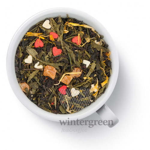Чай Gutenberg ароматизированный зеленый с черным Основной инстинкт