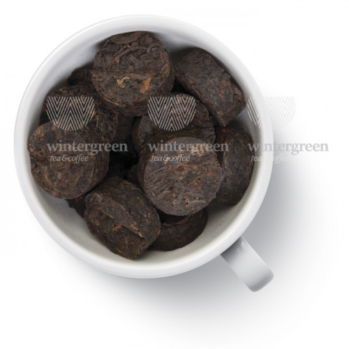 Китайский элитный чай Gutenberg Прессованный Пуэр Tо Ча с Кофейным зерном