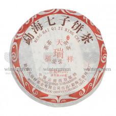 Шу Пуэр (Блин) 2006 г. 346-357 гр. Фабрика Тяньфусян