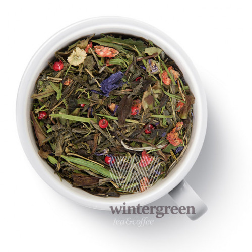 Чай Gutenberg зелёный ароматизированный Клубника-Чили