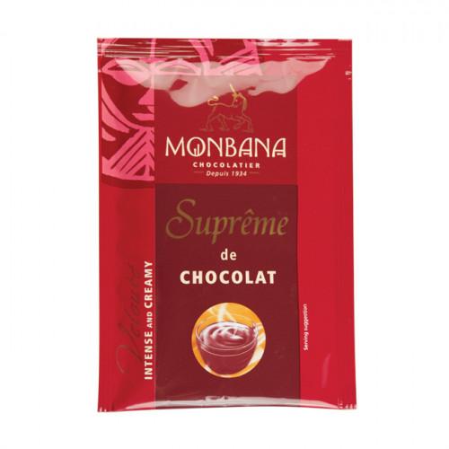 """Горячий шоколад Monbana """"Густой шоколад"""" (10 пакетиков по 25 грамм)"""