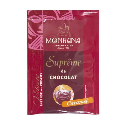 """Горячий шоколад """"Густой шоколад Карамель"""" (10 пакетиков по 25 грамм)"""