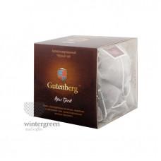 Чай Gutenberg черный ароматизированный в пирамидке Эрл Грей