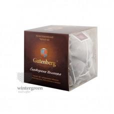 Чай Gutenberg черный ароматизированный в пирамидке Екатерина Великая