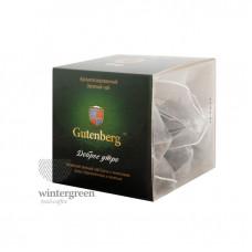 Чай Gutenberg зелёный ароматизированный в пирамидке Доброе Утро