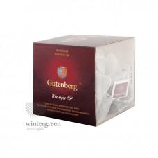 Китайский элитный чай Gutenberg в пирамидке Кимун OP красный