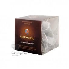 Чай Gutenberg черный ароматизированный в пирамидке Божественный