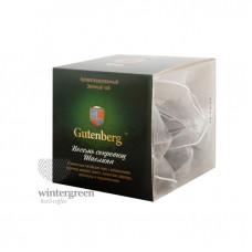 Чай Gutenberg зелёный ароматизированный в пирамидке Восемь Сокровищ Шаолиня