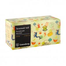 """Чай зеленый пакетированный """"Китайский жасмин"""" (25шт x 2гр.)"""