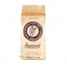 Кофе в зернах Vescovi Сантос 1 кг