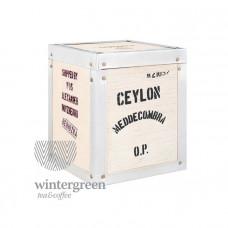 Чай в деревянной коробке Цейлон ОР Меддекомбра (100 гр.)