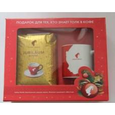 Новогодний подарочный набор Julius Meinl (кофе+чашка)